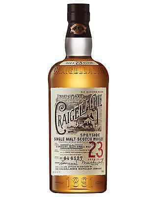 Craigellachie 23 Year Old Single Malt Scotch Whisky 700mL bottle