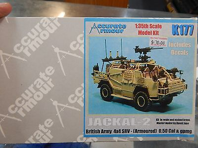 1/35 scale resin kit - JACKAL  K177 by Accurate Armour
