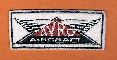 Avro Aircraft Patch Extreme Rare