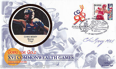 """1998 Commonwealth Games - Benham """"Special"""" - Signed by CHRIS BESSEY"""