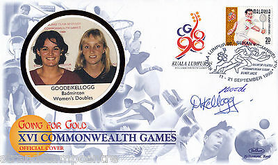 "1998 Commonwealth Games - Benham ""Special"" - Signed by GOODE & KELLOGG"