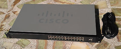 Cisco Smart Switch SLM2024, gestionable, 24 puertos Gigabit