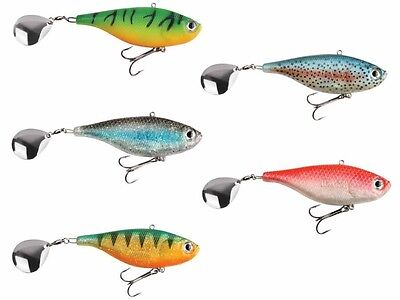 NEU 2017 DAM Effzett Kick-S Hybrid / 90mm / 40g / spinnertail for pike / Köder