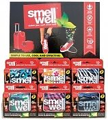 Smell Well Odour Eliminating pouches for Gym Bag, Sports kit and Shoe Freshener