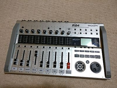 ZOOM R24 multitrack recorder - Hardly Used -  R-24 R 24
