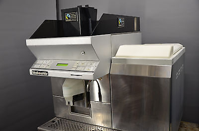 REFURBISHED! Thermoplan Black & White coffee machine CTM1 automatic bean to cup