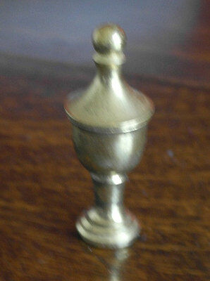 antique style victorian  solid brass FINIAL