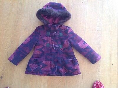 marks and spencer girls coat Age 2-3 Years