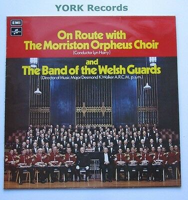 MORRISTON ORPHEUS CHOIR & THE WELSH GUARDS - On Route With ... - Ex LP Record