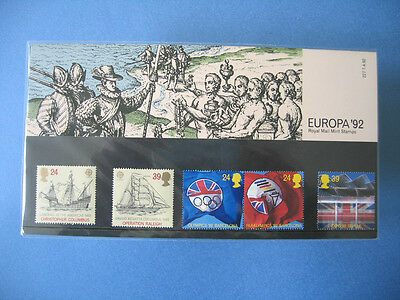 Royal Mail Stamps Presentation Pack Europa '92 Barcelona Olympics Expo Seville