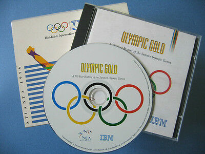 Olympic Gold A 100 Year History of the Summer Olympic Games CD Atlanta 1996