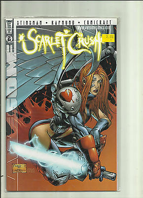 SCARLET CRUSH #2B (of 2) - (1998) - AWESOME COMICS