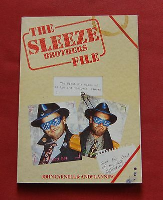The Sleeze Brothers File - John Carnell Andy Lanning - Marvel Graphic Novel TPB