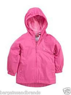 NUOVO Muddy Puddles - puddlepac ROSA IMPERMEABILE PAC giacca 9-10 anni 110348 • EUR 10,05