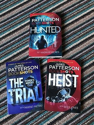 James Patterson Book Shots Brand New