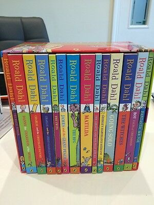 Roald Dahl Phizz-Whizzing 14 Book Box Set Collection