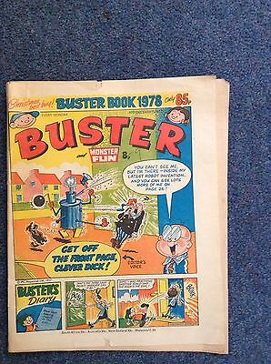 Buster Comic 10th December 1977