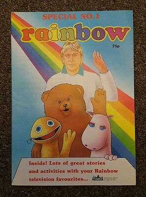 Rainbow special No.1 comic Thames Television Limited 1987