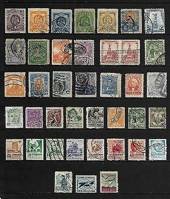 MEXICO stamp selection.(ref.172)