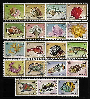FUJEIRA stamp selection.(ref.457)