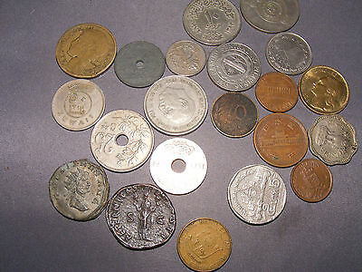 Coins X 22  Misc Foreign Incl Faux Roman