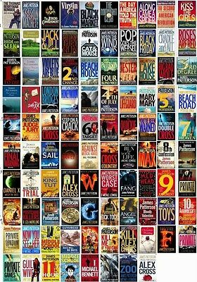 70 Audiobooks  - The James Patterson Majority Novels Collection Mp3 Unabridged I