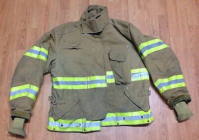 Janesville Lion Apparel Firefighter Jacket Turnout Gear Size 48 x 29R #2