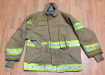 Janesville Lion Apparel Firefighter Jacket Turnout Gear Size 46 x 29R #2