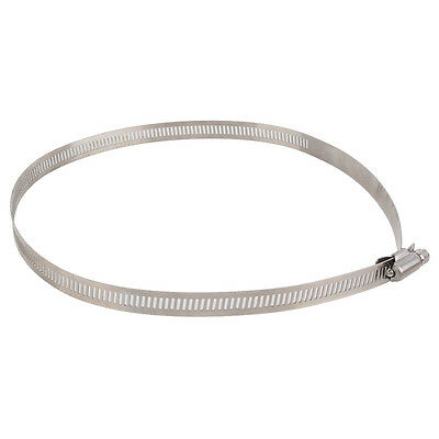 """8""""inch Stainless Steel Hoop Hose / Ducting Clamps - 1 Pcs Hydroponic Duct Hoop"""