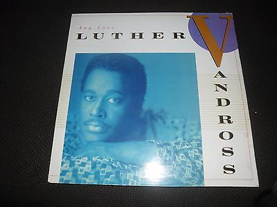 """Luther Vandross """"Any Love"""" 462908 1 Vinyl in good Cond"""