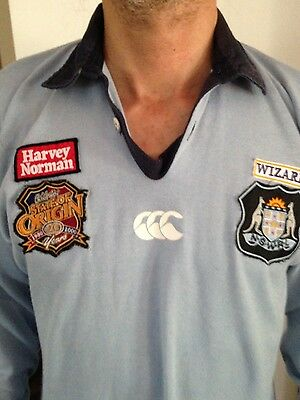 State Of Origin Nsw Jersey Size M
