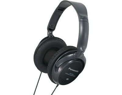 Panasonic RP-HT225 Monitor Headphones with In-Line Volume Control