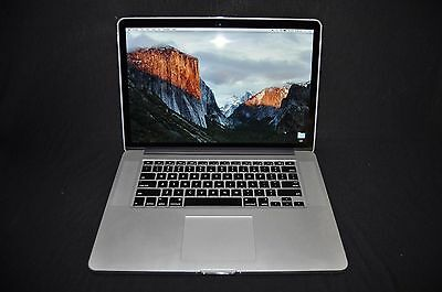 "Macbook Pro 15"" Retina Display i7, 16Gb SDRAM, 256 SSD, (Purchased New May 2016)"