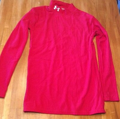 Under Armour,base Layer Coldgear Compression Top ,size Youth Large