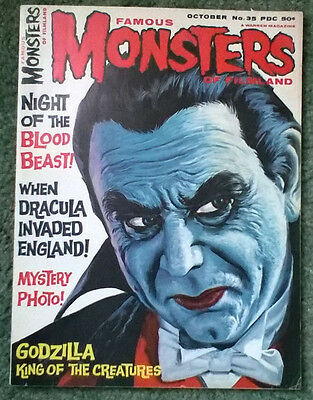 famous monsters of filmland #35,high grade vf-/vf condition,rare!