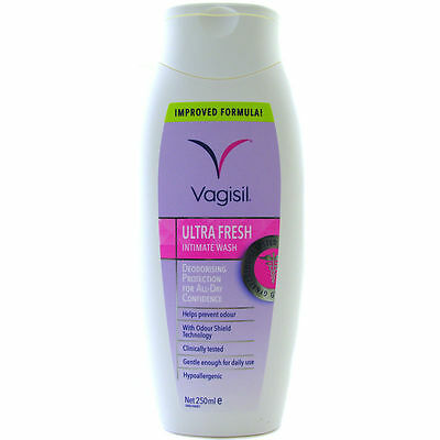 Vagisil Ultra Fresh Intimate Wash 250ml (Odour Shield)