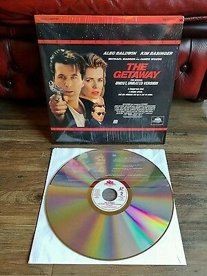 THE GETAWAY Letterboxed Edition Laser disc. NTSC. FREE POST