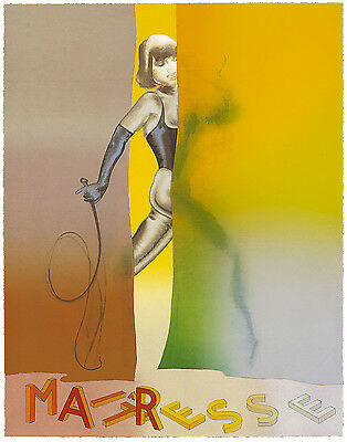 Allen Jones - Maitresse Folio Screenprint III - POP ART GRAFIK - Luxus