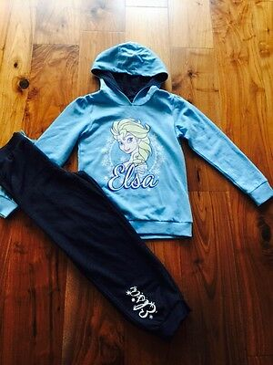Girls BNWOT Age 9-10 Frozen Jogging Suit From Very