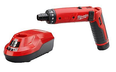 Milwaukee 2101-21 M4 1/4 in. Hex Screwdriver Kit (1 Battery)  NEW