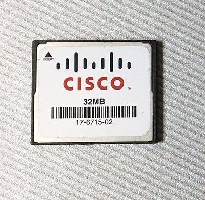 Genuine Cisco 512 MB CF Compact Flash Memory Card 1841 2801 2811 2821 2851 3745