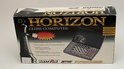Horizon Systema Handheld Electronic Chess Computer With Manual