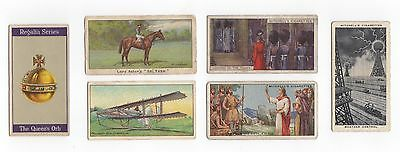 Six cards - Various Issues inc Turf.