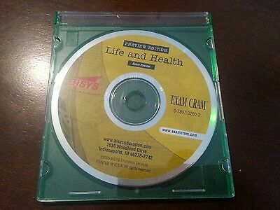 LIFE & HEALTH CD Exam Cram 0-7897-3260-2