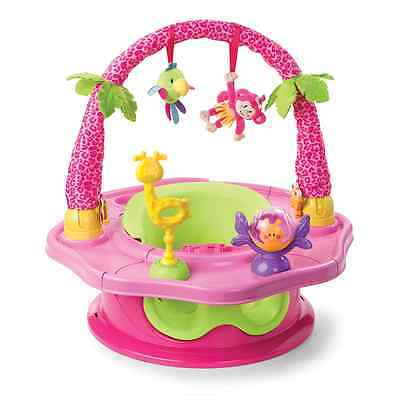 Summer Infant 3-Stage SuperSeat Deluxe Giggles Island Positioner, Booster and Ac