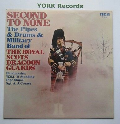 ROYAL SCOTS DRAGOON GUARDS - Second To None - Ex LP Record RCA Victor SF 8346