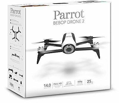 Parrot Bebop Drone 2 White Quadcopter RC Vehicle w HD Camera NEW