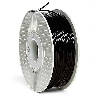 Verbatim PLA 3D Filament 3mm 1kg Reel, Black 55259