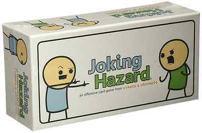 Joking Hazard Adults Party Game Multiplayer Entertainment 360 Panel Cards Toys