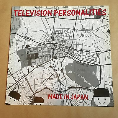 """Television Personalities Made In Japan Album First UK Pressing 12"""" LP"""
